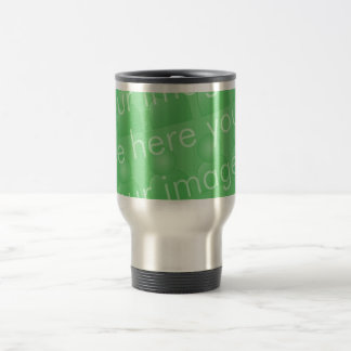 Diseño envuelto taza de viaje