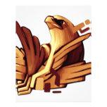 Diseño épico #1 de Eagle Membrete A Diseño