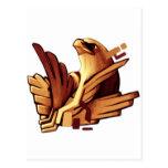 Diseño épico #1 de Eagle Tarjetas Postales