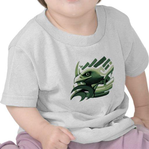 Diseño épico #3 de Eagle Camiseta