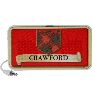 Diseño escocés del tartán - Crawford personaliza Altavoces De Viaje