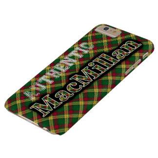 Diseño escocés del tartán de MacMillan del clan Funda Barely There iPhone 6 Plus