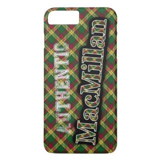 Diseño escocés del tartán de MacMillan del clan Funda iPhone 7 Plus