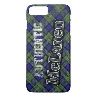 Diseño escocés del tartán de McLaren del clan Funda iPhone 7 Plus