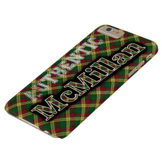 Diseño escocés del tartán de McMillan del clan Funda Barely There iPhone 6 Plus