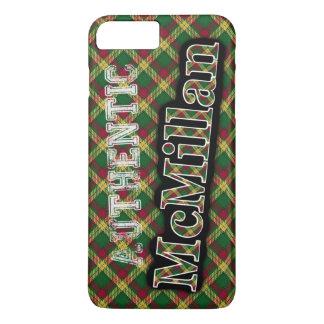 Diseño escocés del tartán de McMillan del clan Funda iPhone 7 Plus
