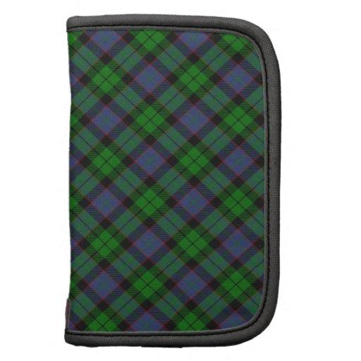 Diseño escocés del tartán del clan de Ferguson Planificadores
