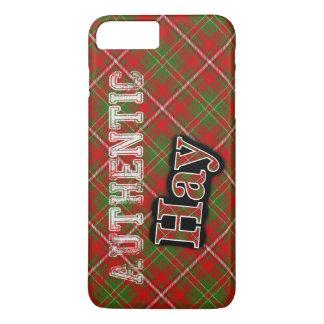Diseño escocés del tartán del heno auténtico del funda iPhone 7 plus