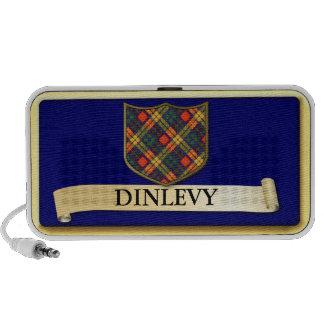 Diseño escocés del tartán - Donlevy - personalice iPhone Altavoz