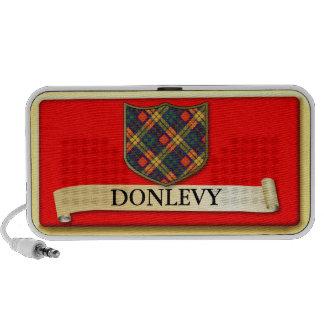 Diseño escocés del tartán - Donlevy - personalice Mp3 Altavoces
