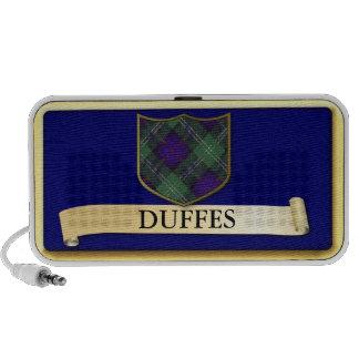 Diseño escocés del tartán - Duffes - personalice Portátil Altavoces