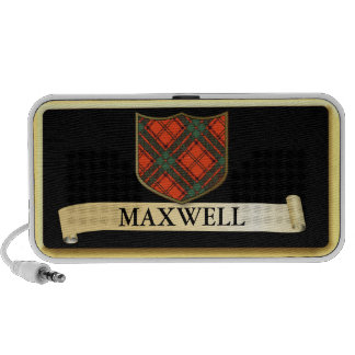 Diseño escocés del tartán - el maxwell personaliza iPod altavoz