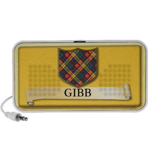 Diseño escocés del tartán - Gibb Laptop Altavoz