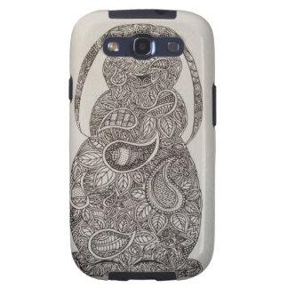 Diseño espigado del conejo del Lop Galaxy S3 Funda