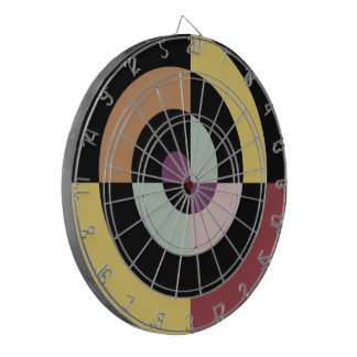 Diseño espiral elegante tablero dardos