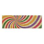 Diseño espiral maravilloso del remolino del rayo d plantilla de tarjeta de negocio
