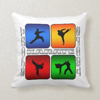 Diseño estupendo del deporte de los artes marciale almohadas