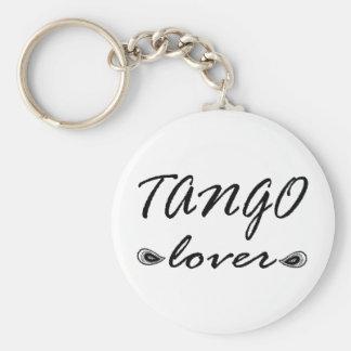 ¡Diseño exclusivo del amante del tango! Llavero Redondo Tipo Pin