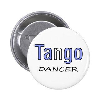 ¡Diseño exclusivo del bailarín del tango! Pin Redondo De 2 Pulgadas