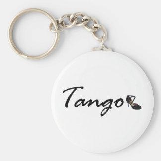 ¡Diseño exclusivo del tango! Llavero Redondo Tipo Pin