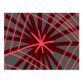 Diseño exótico de Spiderweb del Web de araña Tarjetas Postales