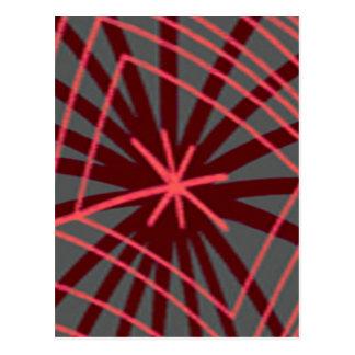Diseño exótico de Spiderweb del Web de araña Postal