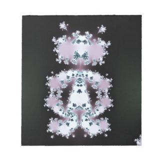 Diseño extranjero del fractal del tipo blocs de papel