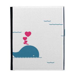 Diseño fabuloso de la ballena azul con los