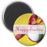 Diseño feliz del huevo de Pascua Imán