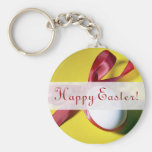 Diseño feliz del huevo de Pascua Llaveros Personalizados