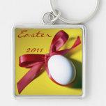 Diseño feliz del huevo de Pascua Llavero