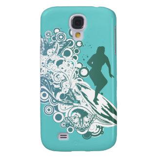 diseño femenino de la persona que practica surf de