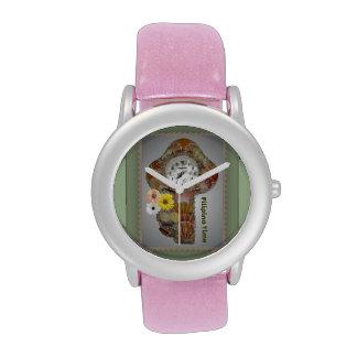 Diseño filipino del tiempo - reloj filipino