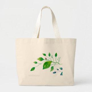 Diseño floral 001 bolsas de mano