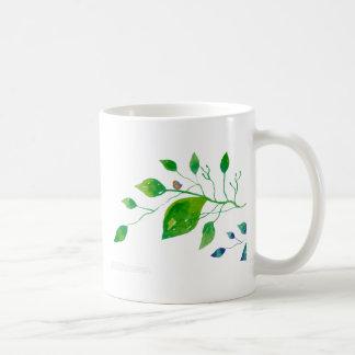 Diseño floral 001 tazas