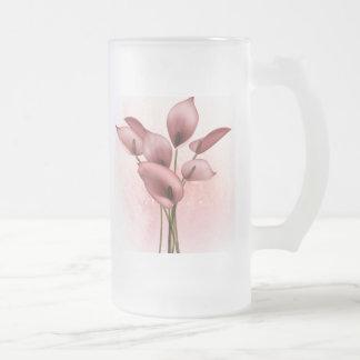 Diseño floral 003 tazas