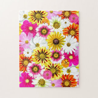 Diseño floral 06 rompecabeza con fotos