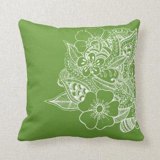 Diseño floral 1 - Apple Almohada