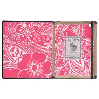 diseño floral 1 - Mellon iPad Coberturas