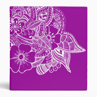 Diseño floral 1 - purpúreo claro
