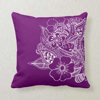 Diseño floral 1 - rosa almohadas