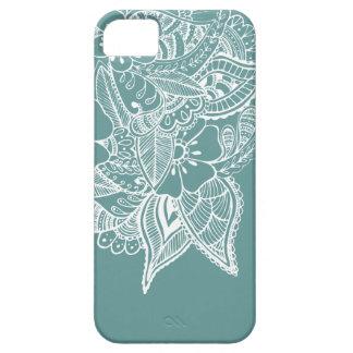 Diseño floral 1 - Sabio iPhone 5 Case-Mate Cobertura