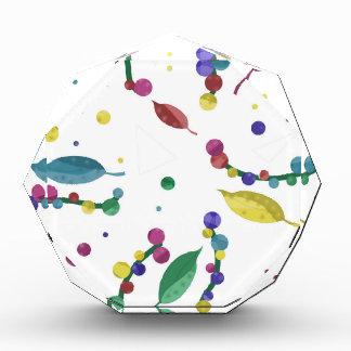 Diseño floral abstracto