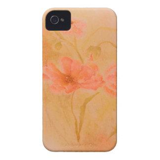diseño floral antiguo de la casamata del iphone 4 iPhone 4 cárcasas