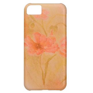 diseño floral antiguo de la casamata del iphone 5