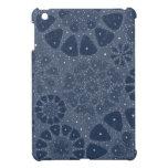 Diseño floral azul fresco del modelo de estrella iPad mini cárcasas