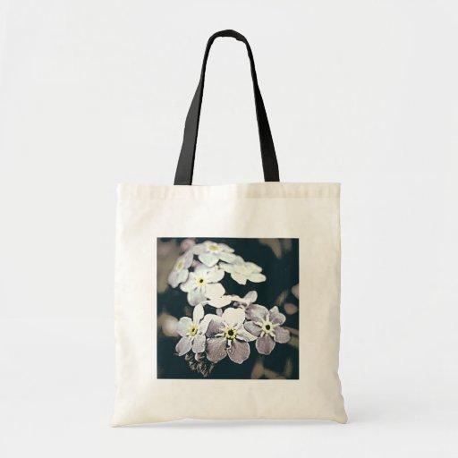 Diseño floral bolsa