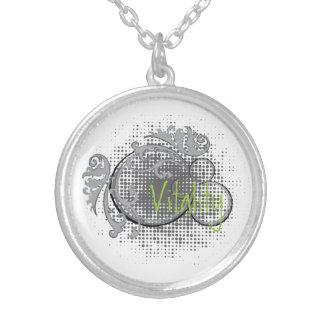 Diseño floral circular de la vitalidad colgante redondo