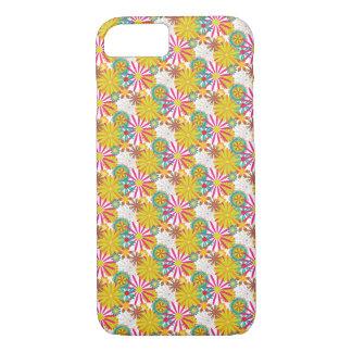 Diseño floral colorido - caso/piel del iPhone 7 Funda iPhone 7