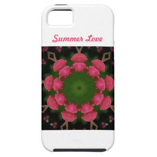 Diseño floral de Carola Tomlinson iPhone 5 Carcasas